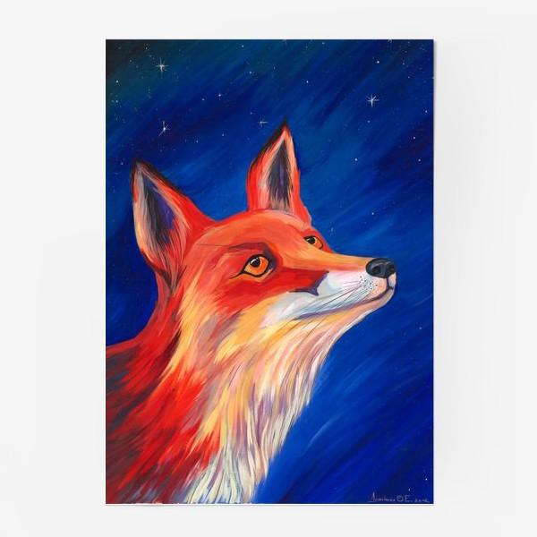 Постер «Рыжая Лисичка»