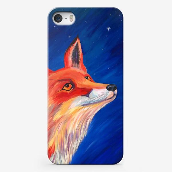 Чехол iPhone «Рыжая Лисичка»