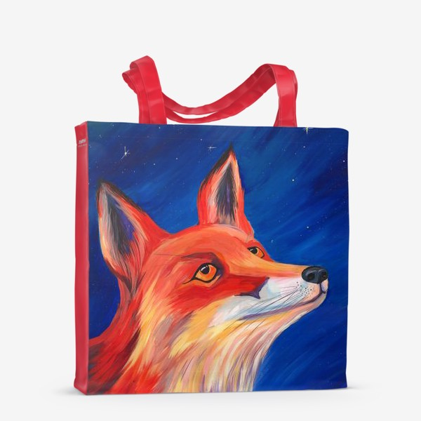 Сумка-шоппер «Рыжая Лисичка»