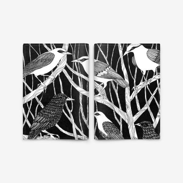 Обложка для паспорта «Птицы»