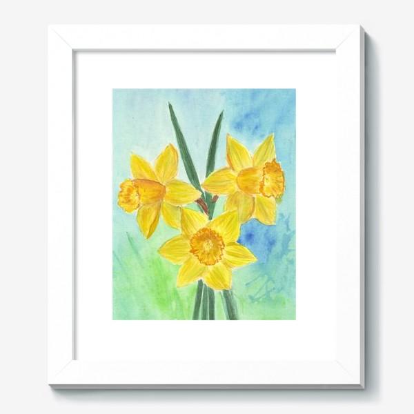 Картина «Желтые нарциссы»