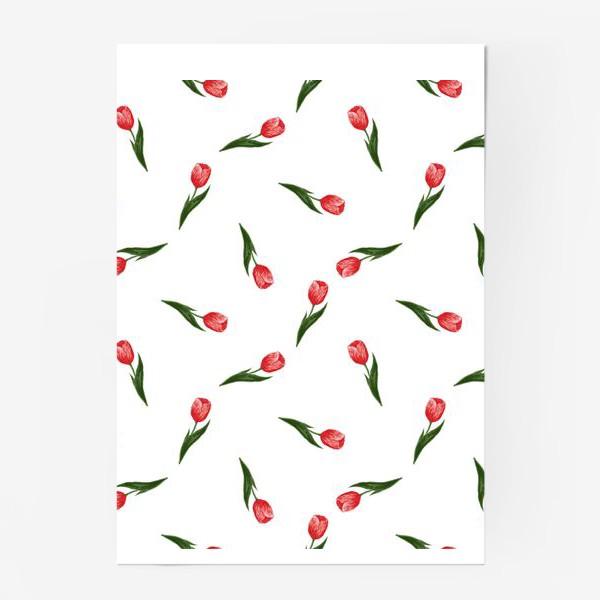Постер «Тюльпаны»