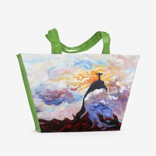 Пляжная сумка «Помнят ли о нас где-то там, над Рио?»