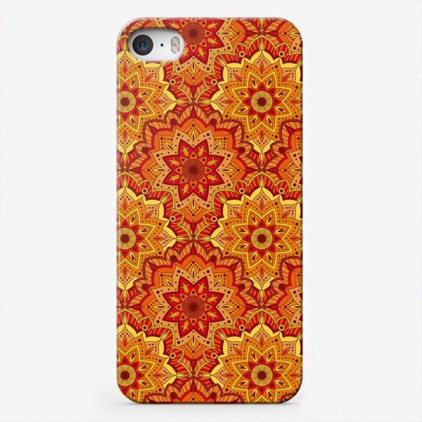 Чехол iPhone «Восточный цветочный узор»