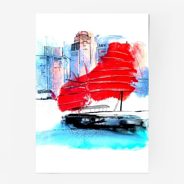 Постер «Гонконг»