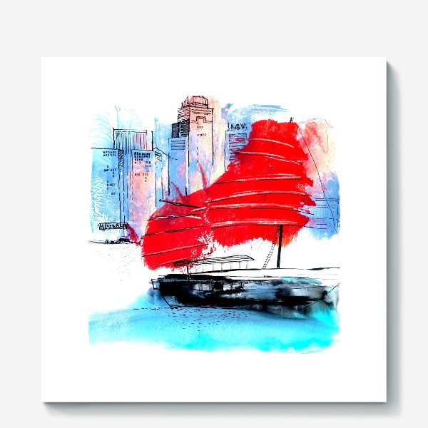 Холст «Гонконг»