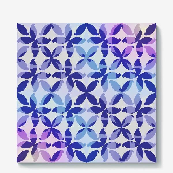 Холст «Синяя абстракцияBlue abstraction»