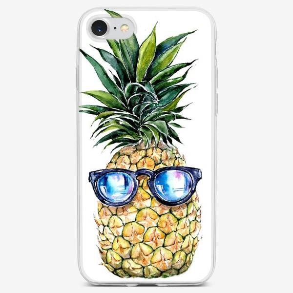 Чехол iPhone «Летний ананас»