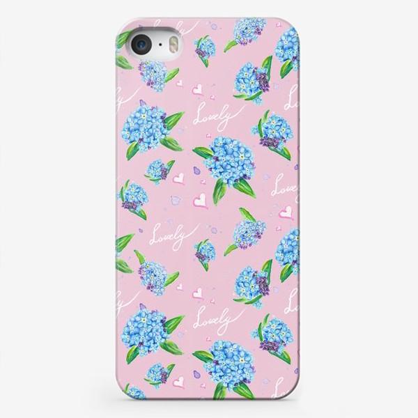 Чехол iPhone «Нежные незабудки»