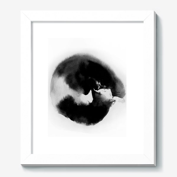 Картина «Котик спящий»