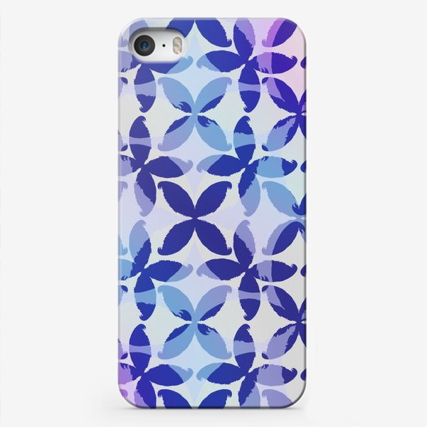 Чехол iPhone «Синяя абстракцияBlue abstraction»