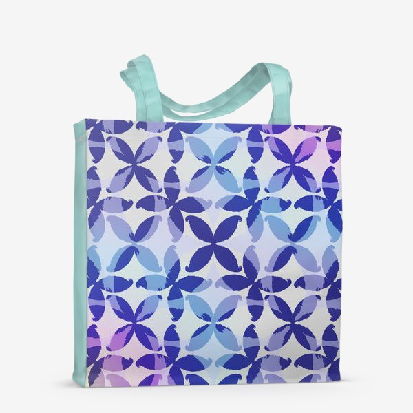 Сумка-шоппер «Синяя абстракцияBlue abstraction»