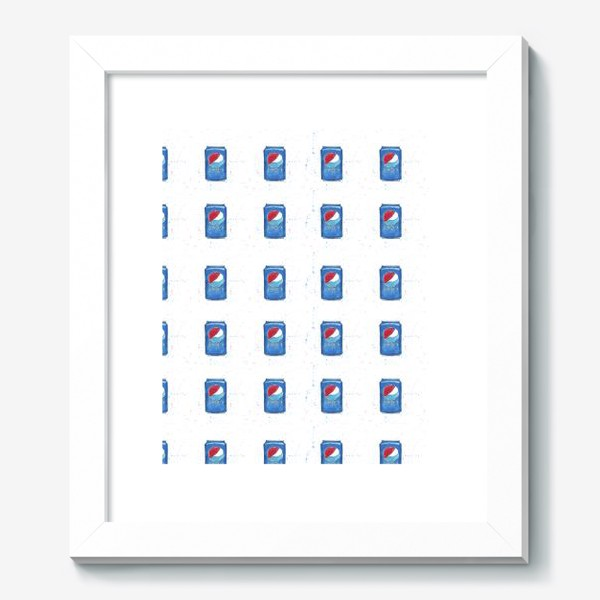 Картина «Pepsi - pattern. Пепси - паттерн»