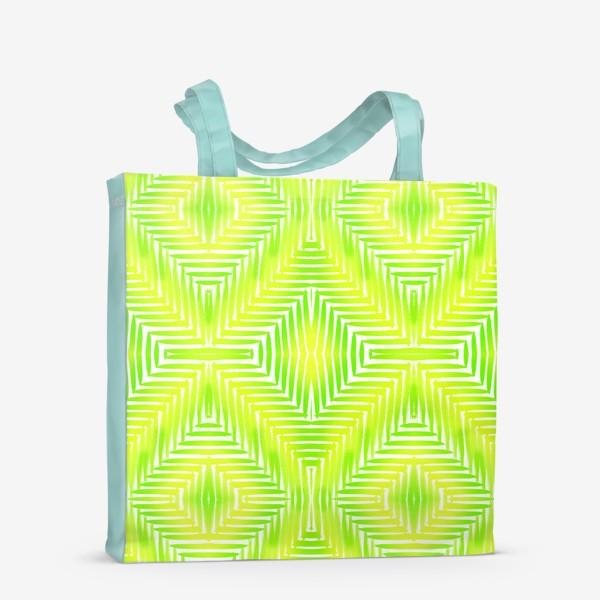 Сумка-шоппер «Тропический принт»
