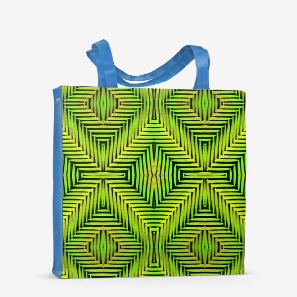 Сумка-шоппер «Тропический паттерн»