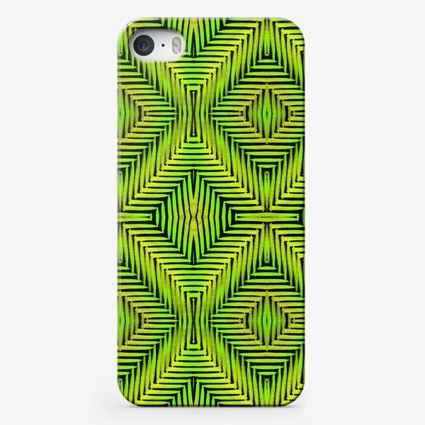 Чехол iPhone «Тропический паттерн»