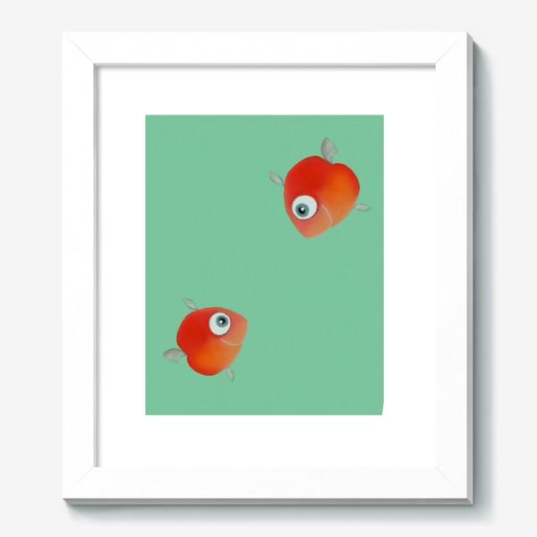Картина «Встреча. Две красные рыбы»