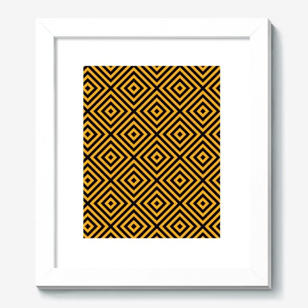 Картина «Золотой абстрактный узор. Abstract gold mosaic»
