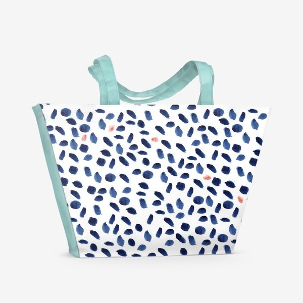 Пляжная сумка «Modern minimal watercolor»