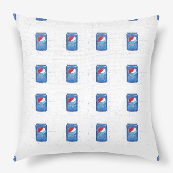 Подушка «Pepsi - pattern. Пепси - паттерн»