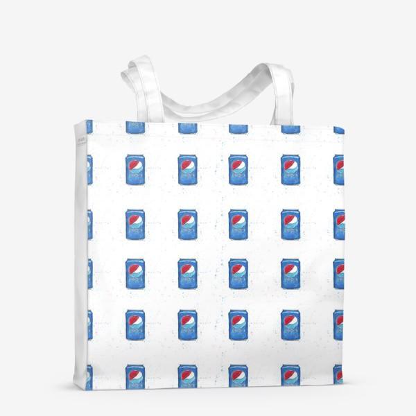 Сумка-шоппер «Pepsi - pattern. Пепси - паттерн»