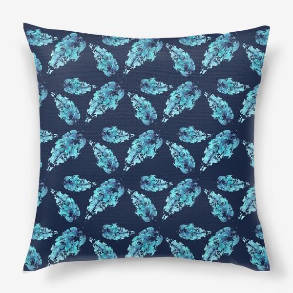 Подушка «Листья»
