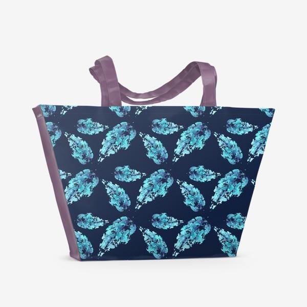 Пляжная сумка «Листья»