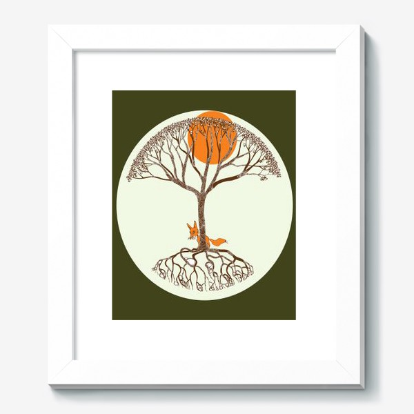 Картина «Липа и лиса»