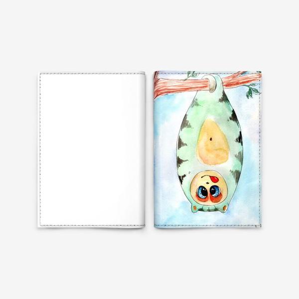 Обложка для паспорта «Мякиш-балбес»