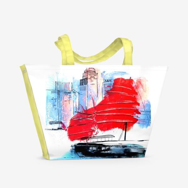 Пляжная сумка «Гонконг»