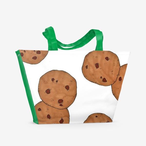 Пляжная сумка «Печеньки »