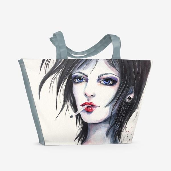 Пляжная сумка «Пиковая дама»