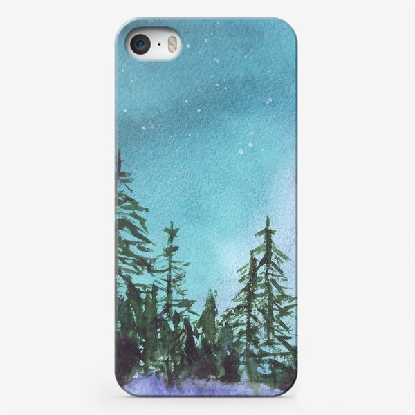 Чехол iPhone «Северная ночь»