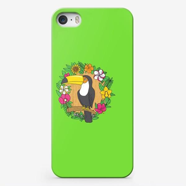 Чехол iPhone «Тукан»