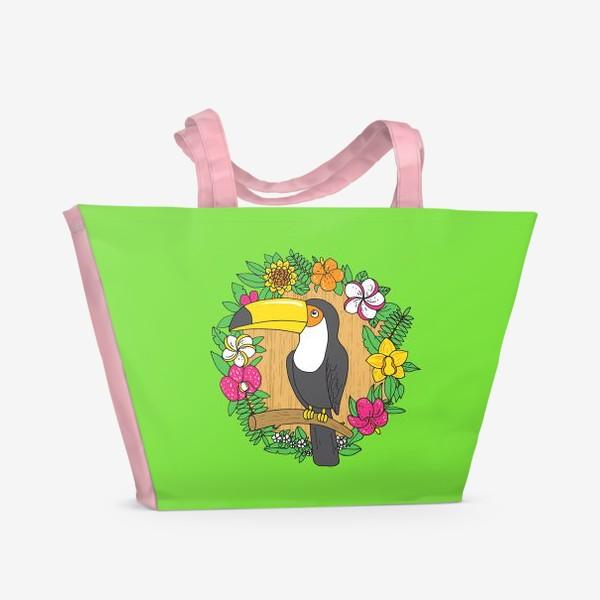 Пляжная сумка «Тукан»