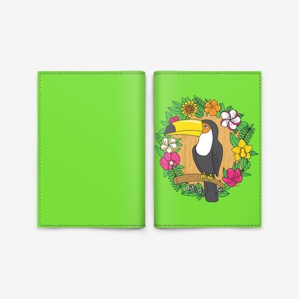 Обложка для паспорта «Тукан»
