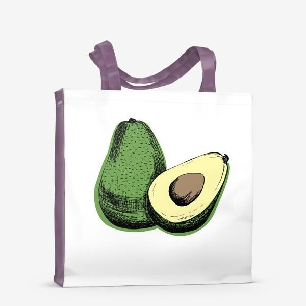 Сумка-шоппер «Авокадо»