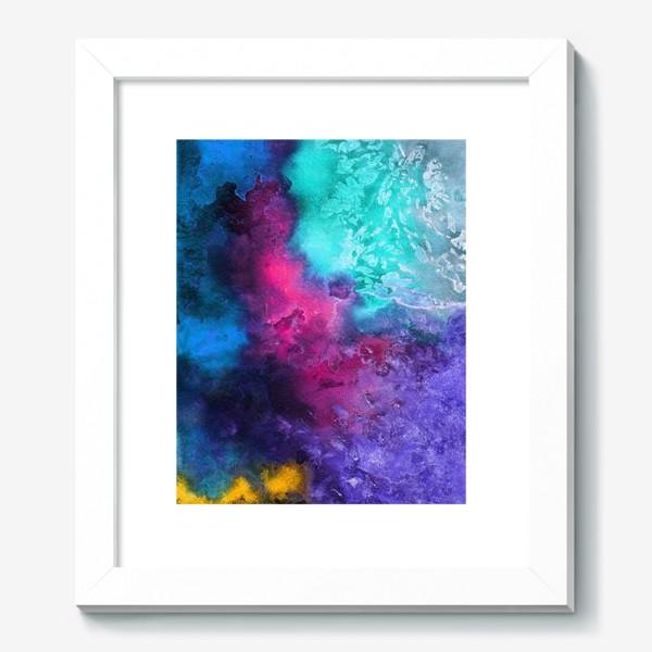 Картина «Акварельная абстракция»