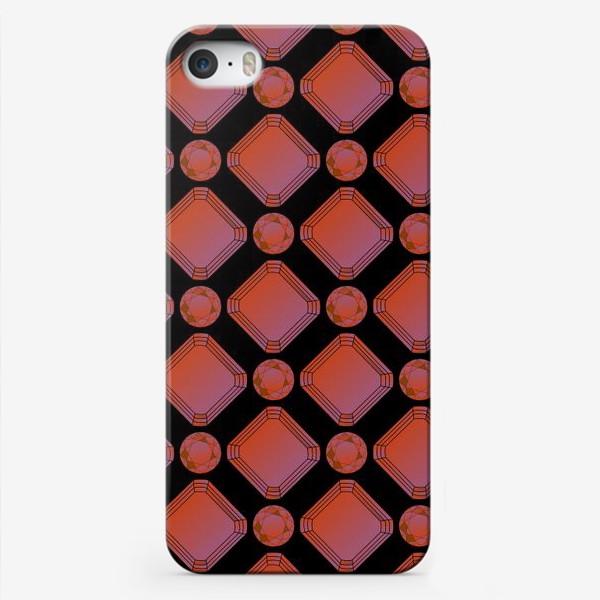 Чехол iPhone «Рубины»