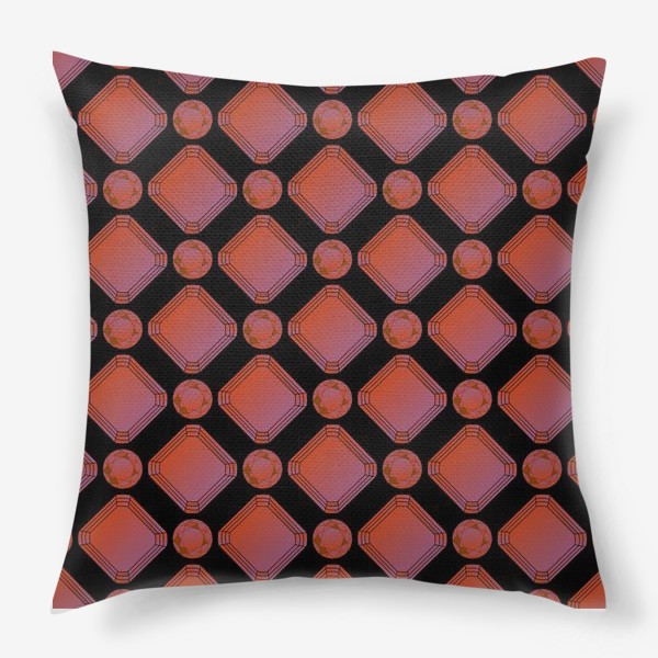Подушка «Рубины»
