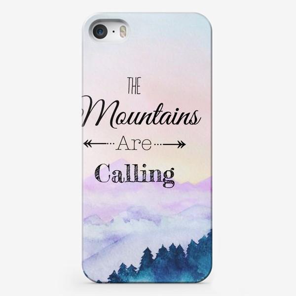 Чехол iPhone «горы зовут»