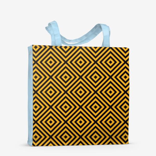 Сумка-шоппер «Золотой абстрактный узор. Abstract gold mosaic»