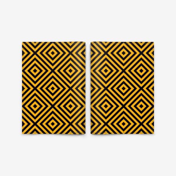 Обложка для паспорта «Золотой абстрактный узор. Abstract gold mosaic»