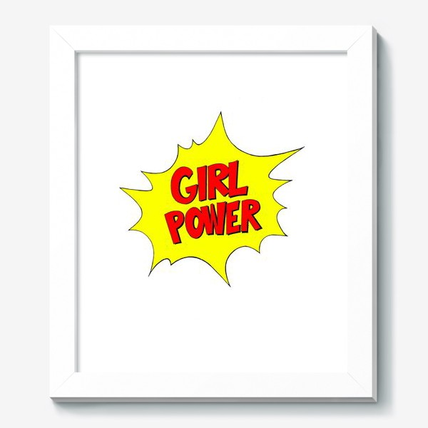 Картина «Girl Power. Попарт #3»