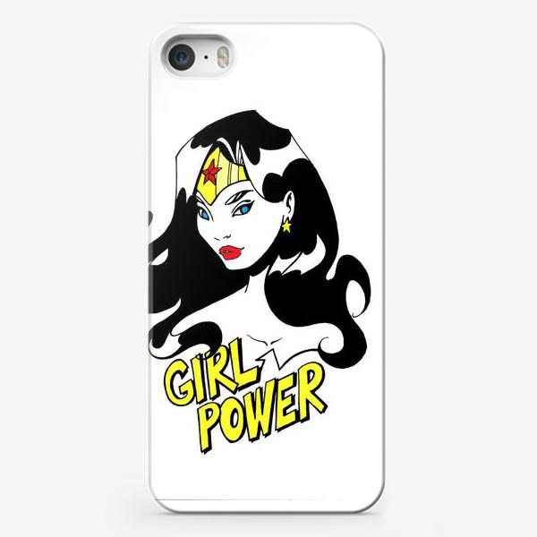 Чехол iPhone «Wonder Woman. Попарт/Комикс»