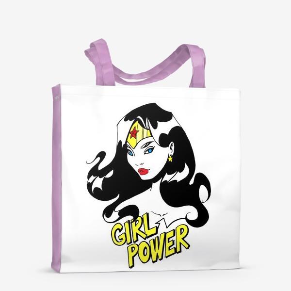 Сумка-шоппер «Wonder Woman. Попарт/Комикс»