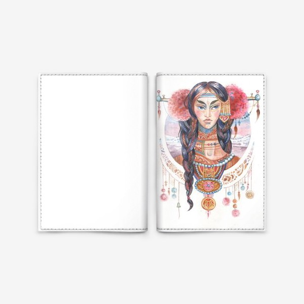 Обложка для паспорта «Северный остров»