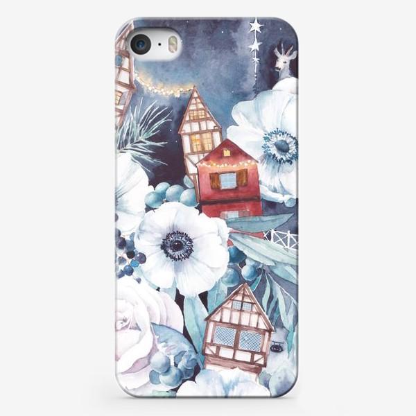 Чехол iPhone «Праздничные огни»