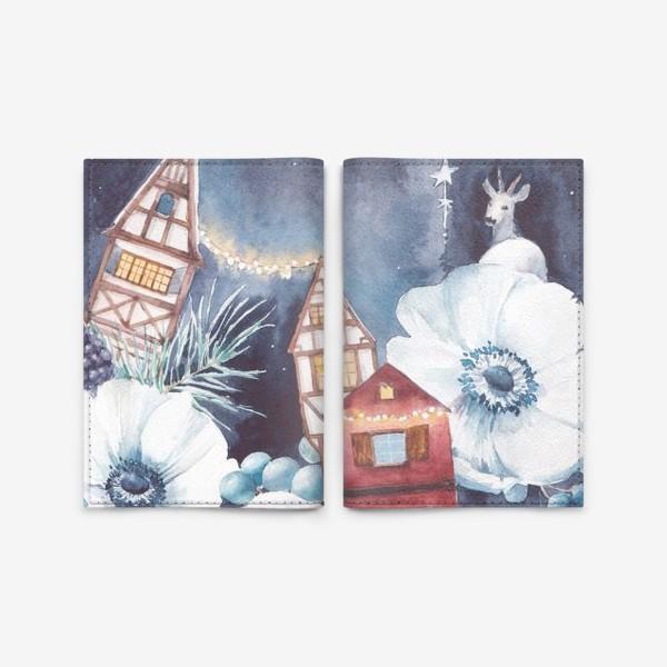 Обложка для паспорта «Праздничные огни»