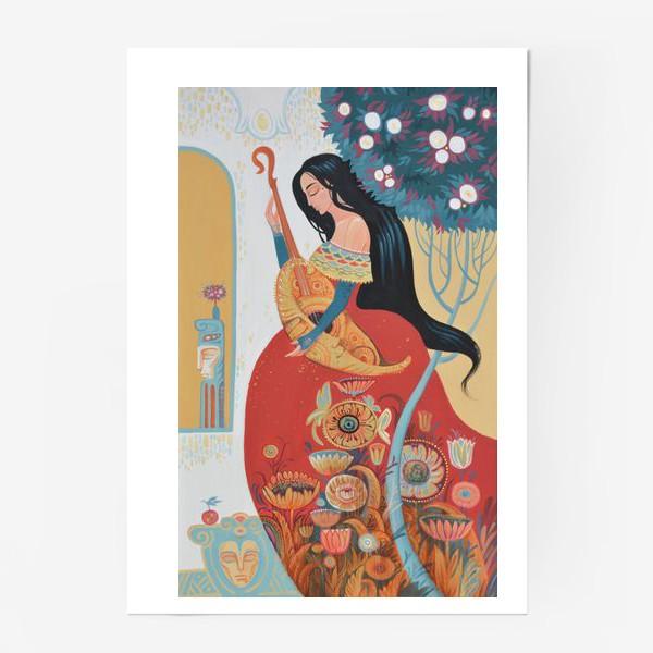 Постер «Primavera/весна/цветение»
